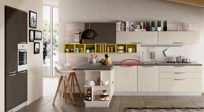 L'alzatina: un particolare della cucina da tenere d'occhio!